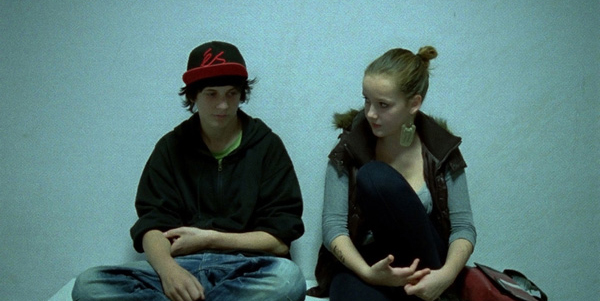 Schule im Kino: Catalina Molina und Florian Pochlatko