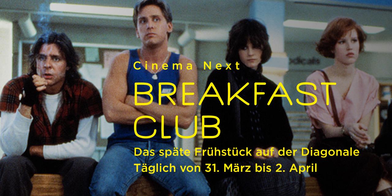 Breakfast Club. Das späte Frühstück auf der Diagonale