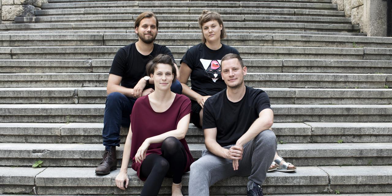 Jan Groos, Liesa Kovacs, Sebastian Schmidl, Clara Stern, Antoinette Zwirchmayr| BKA StartstipendiatInnen 2017