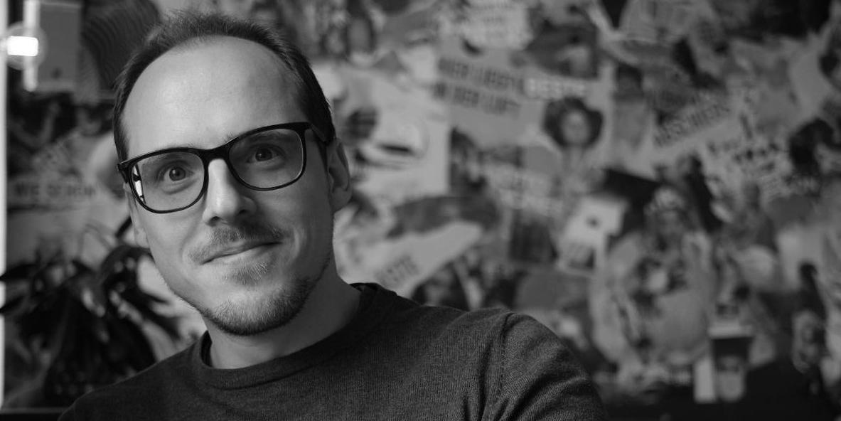 Stefan Langthaler. Regisseur von »SARGIS«