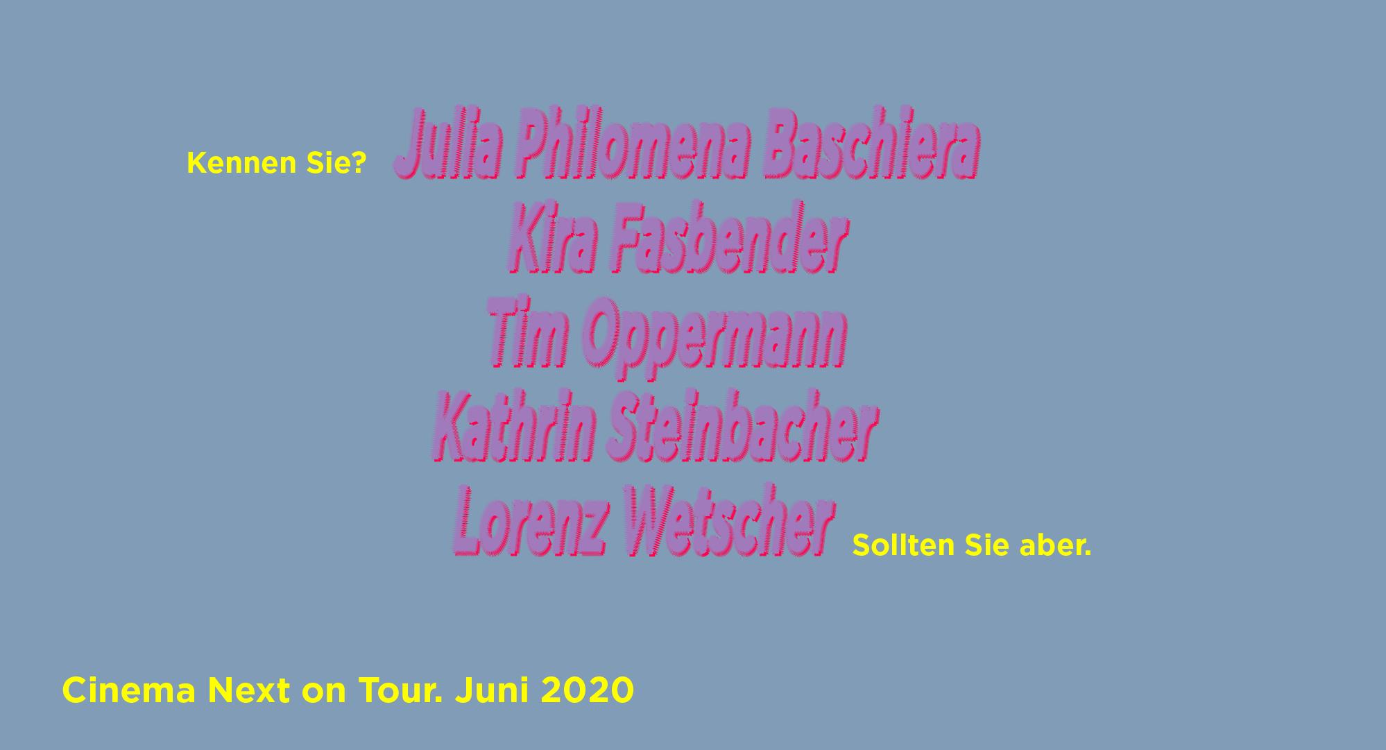 Salzburg-Programm. Host: Das Kino